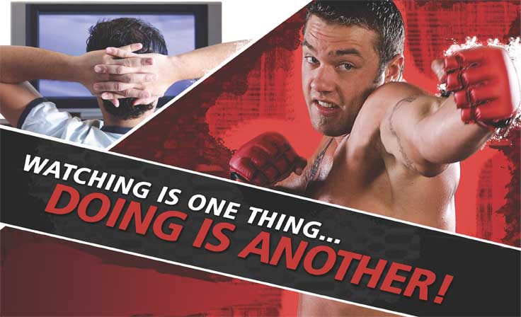 Don't watch Mixed Martial Arts, Do it at Max MMA